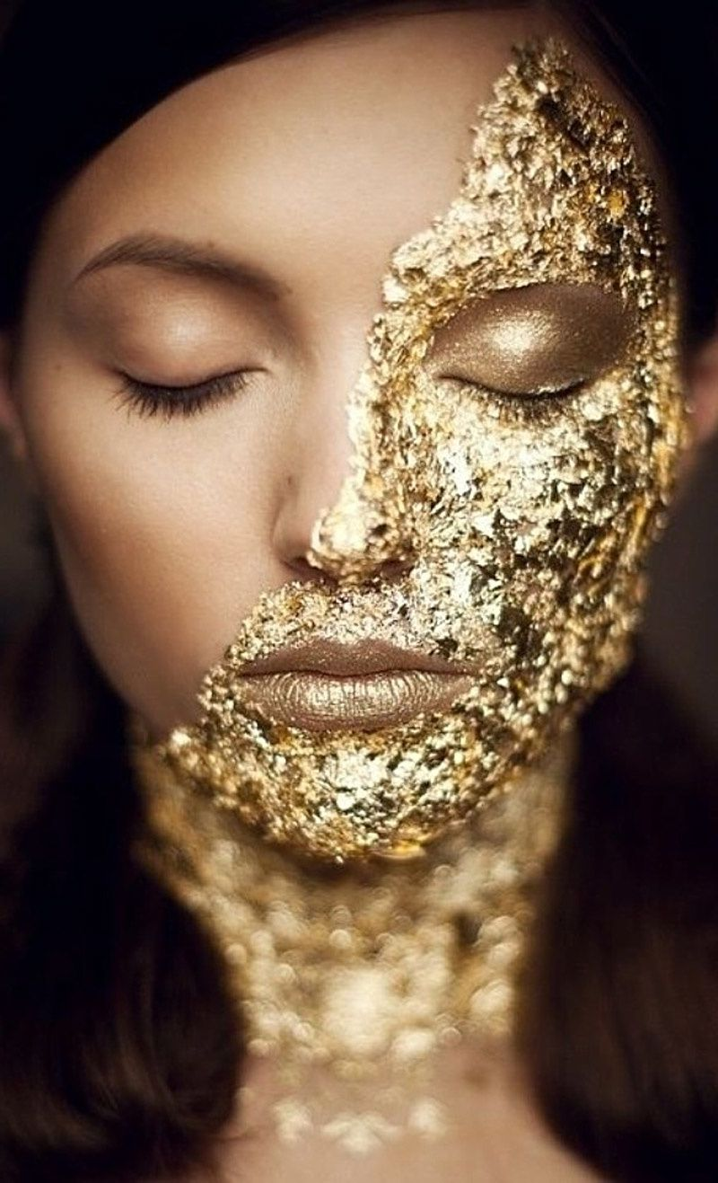 GOLD MAKEUP AND WEDDINGS