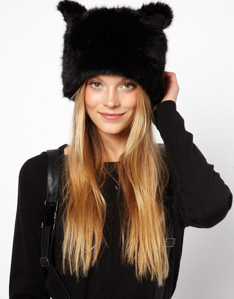 I'm totally into FAUX FUR for FALL...
