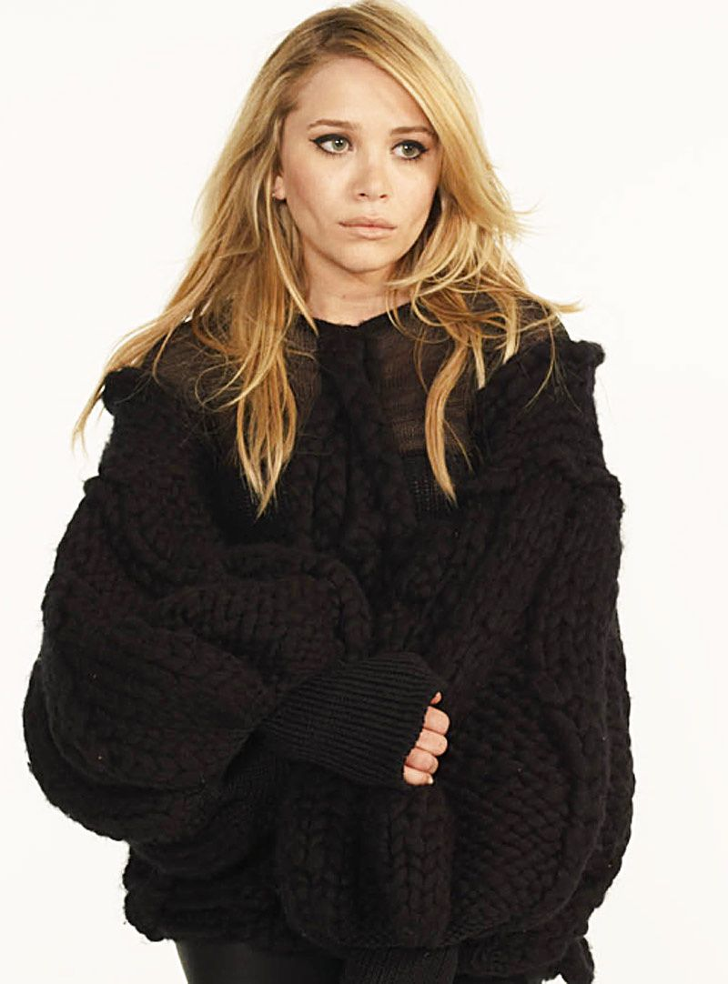 MK IN A CHUNKY KNIT