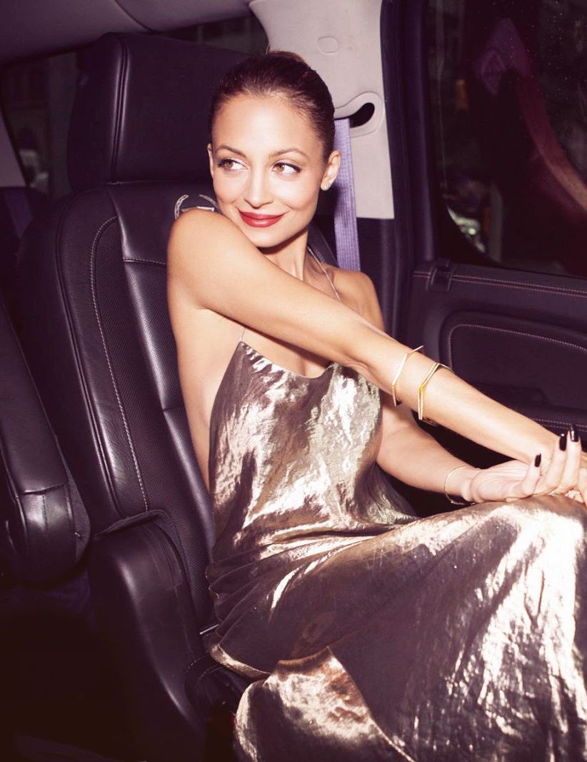 NICOLE RICHIE IS GOLDEN