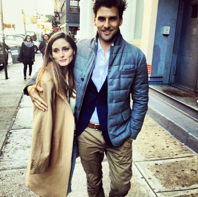 OLIVIA PALERMO TAKES A STROLL WITH HER BEAU