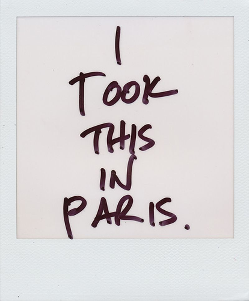 A TRIP TO PARIS!