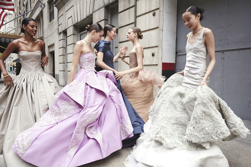 MET GALA BALL DRESSES HIT THE STREETS