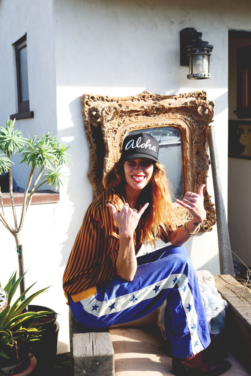 ERIN WASSON AT HOME