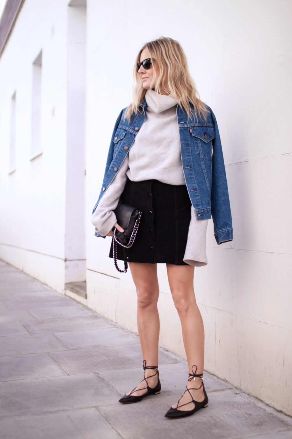 GET THE LOOK: BUTTON DOWN SKIRTS