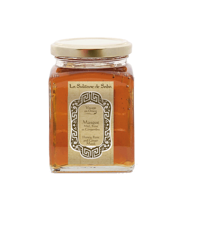 Le soin visage aux pétales de rose et au miel