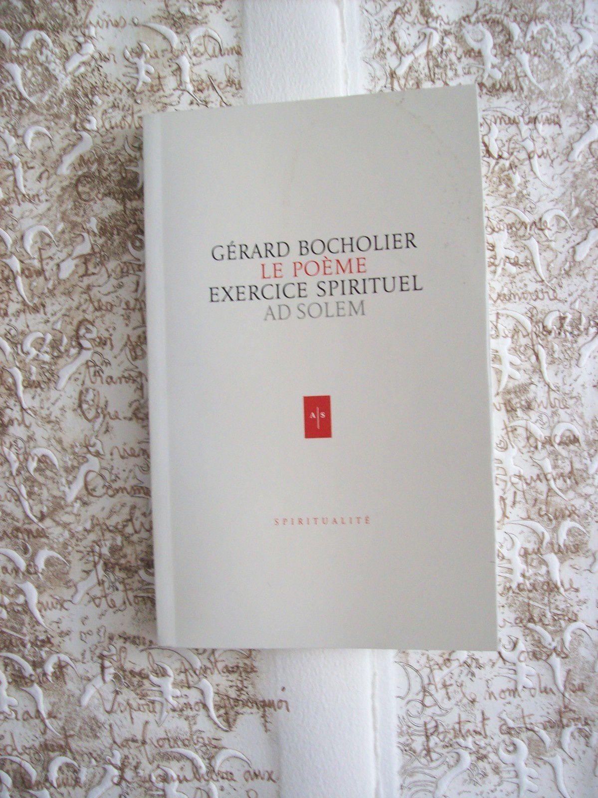 """Gerard Bocholier: """"tout le mystère est visible..."""""""