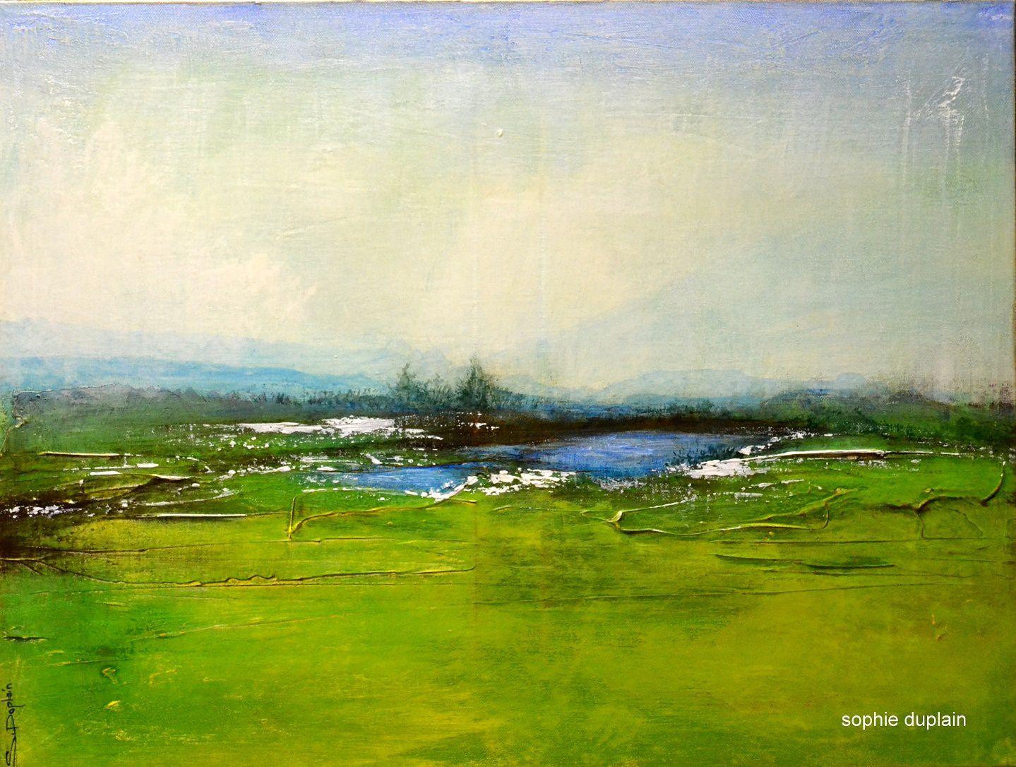 Peintures de Sophie Duplain. Site: http://www.sophieduplain.com/