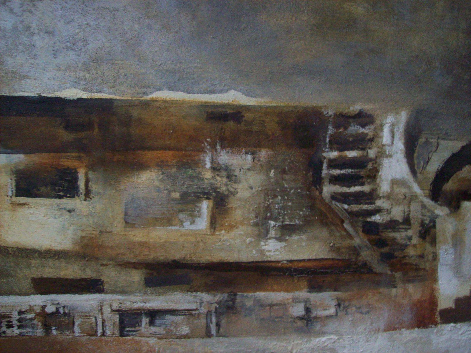 """""""Impasse d'une Venise"""", toile d'Henry Christiaën."""