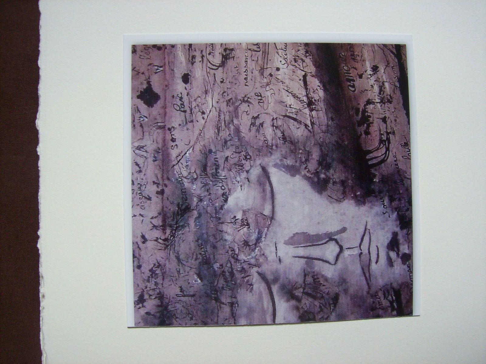 LA NUIT, livre d'artiste. /Poèmes de Régis Roux, peintures de Christiane Joguet)