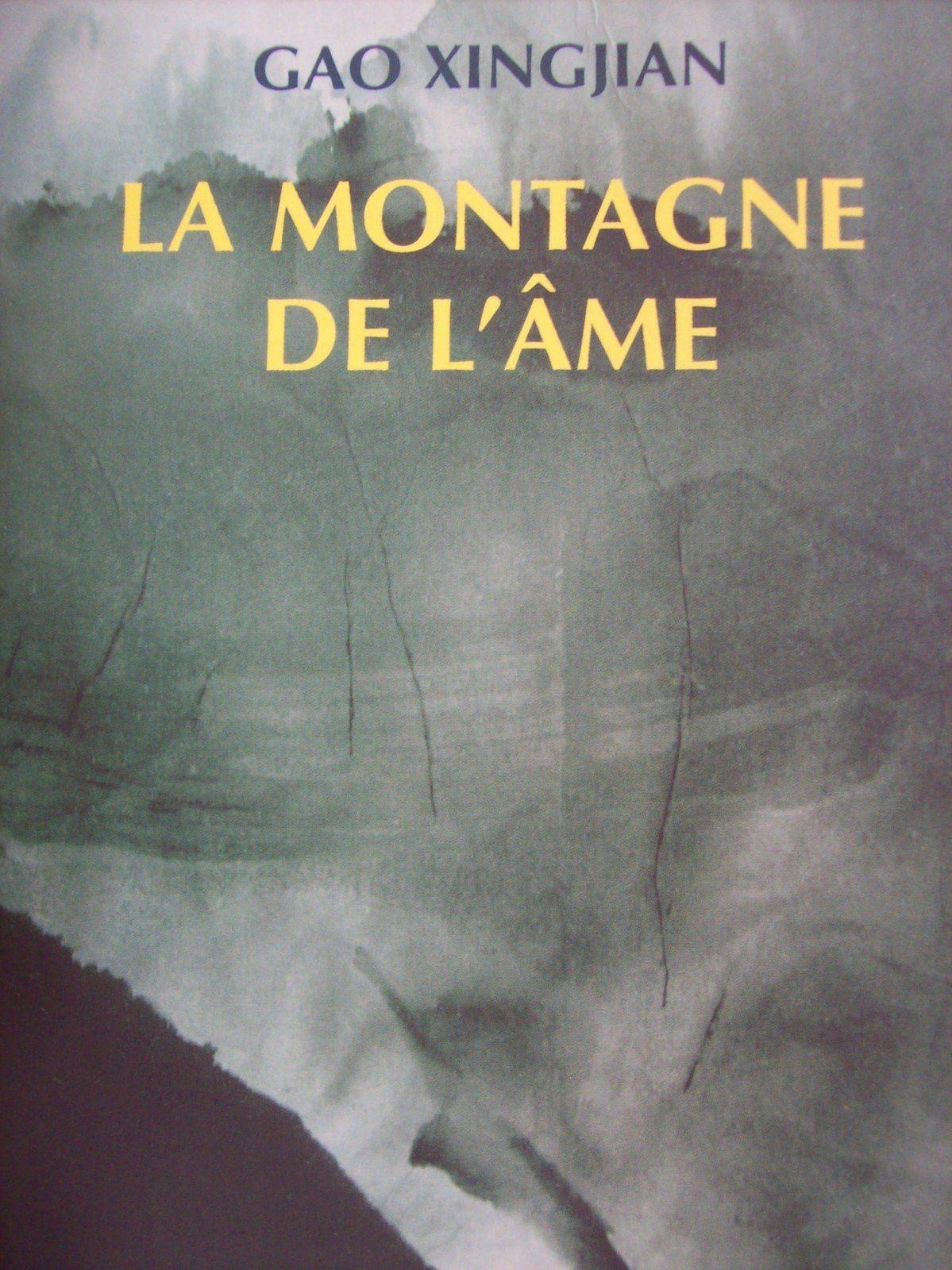 """Couverture de """"La Montagne de l'âme"""" de Gao Xingjian (ed l'aube poche, 2000.) Photos prises à Chamechaude par Régis Roux en août 2015."""