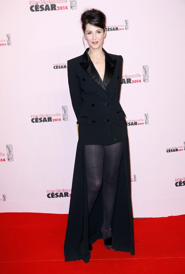 Zabou Breitman en Jean-Paul Gaultier : C-Oui (© Getty Images)