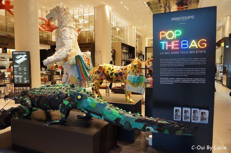Pop The Bag au Printemps du Louvre