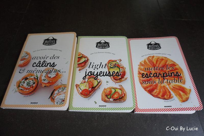Les Recettes du Sac à Main - Editions Mango - 7,95 €