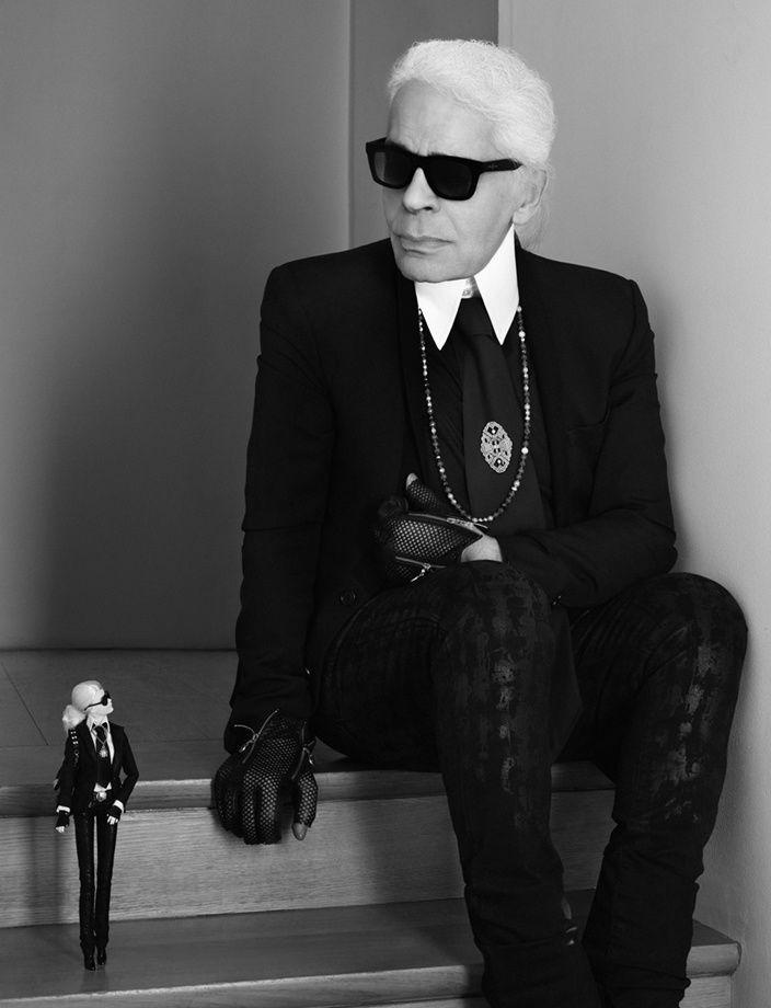 Photo : Karl Lagerfeld