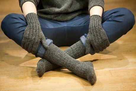 Les chaussettes orphelines recyclées : LA grande idée !