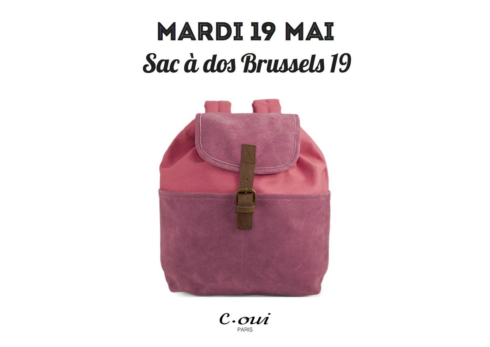 Jeu concours 5 ans 5 sacs J2 : le sac à dos Brussels 19
