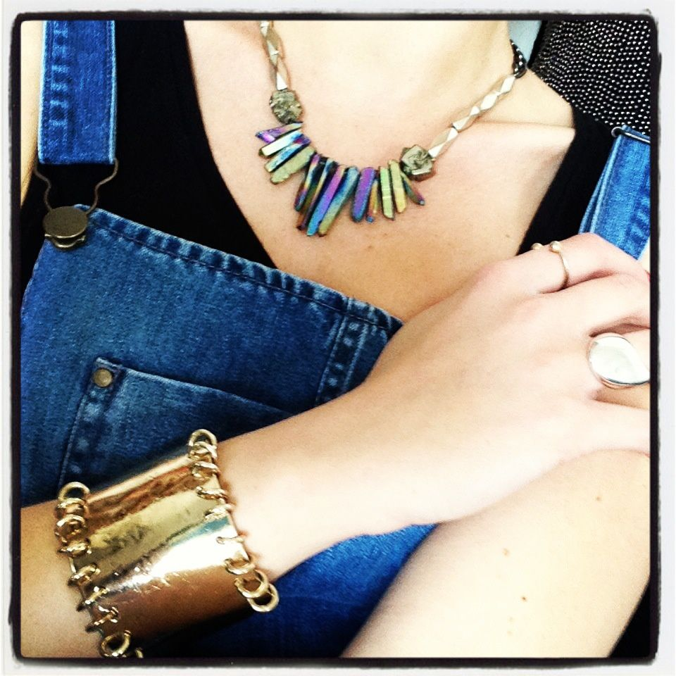 Bracelet Aurélie Bidermann (je ne vis plus sans, merci ventes presse again...)