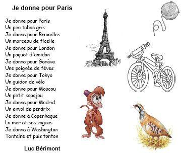 Poésie: Je donne, Luc Bérimont