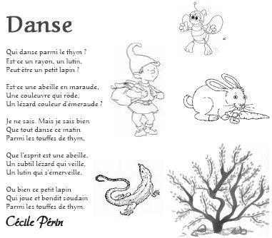Poésie: Danse de Cécile Périn