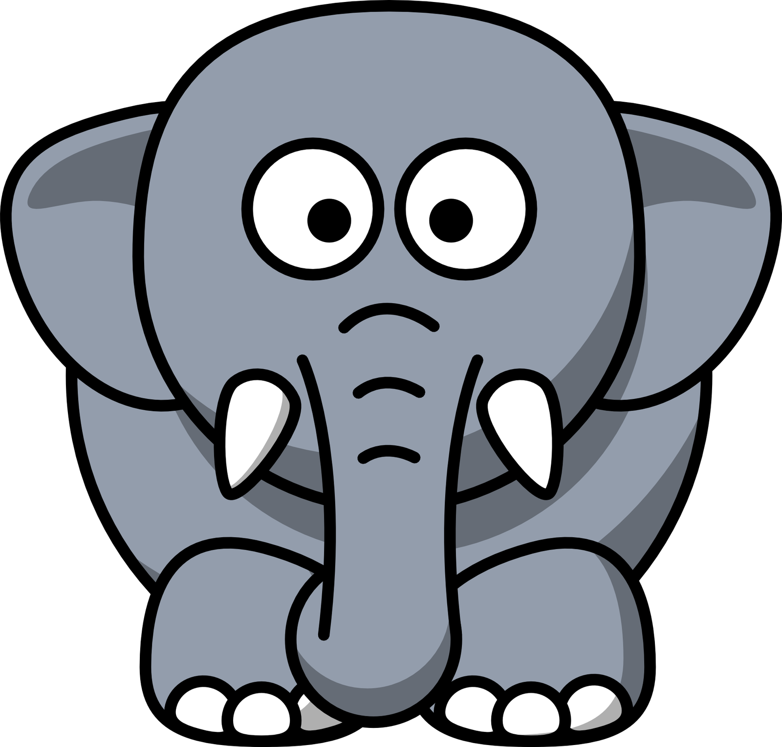 Comptine anglais : what a nose! (the elephant goes)