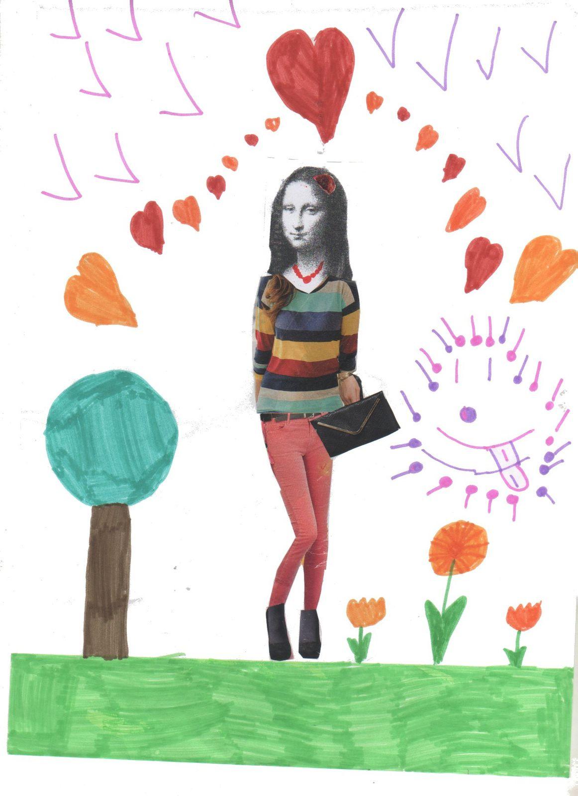 Arts: détourner une oeuvre, La Joconde à la mode