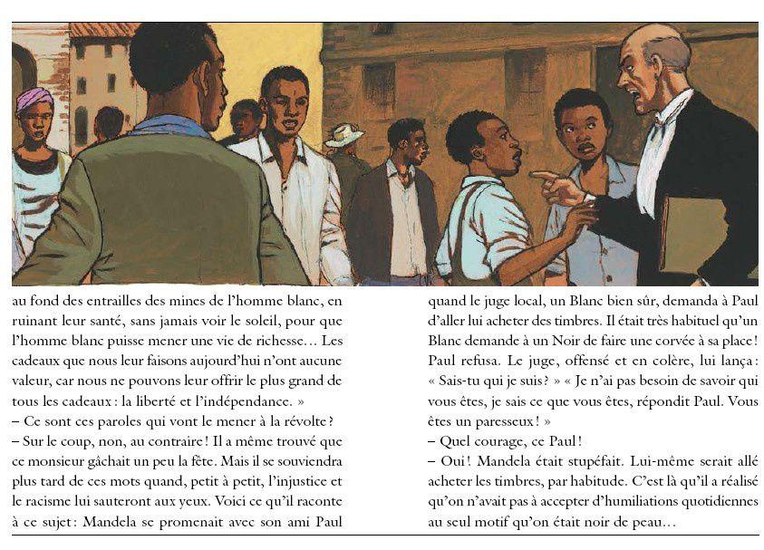 L'enfance de Nelson Mandela: fils de chef (lecture compréhension CM)