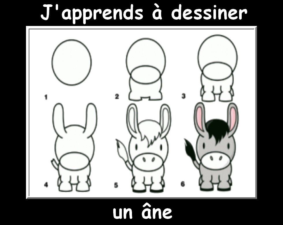 Beautiful j apprend a dessiner les animaux with dessiner for Cuisine a dessiner