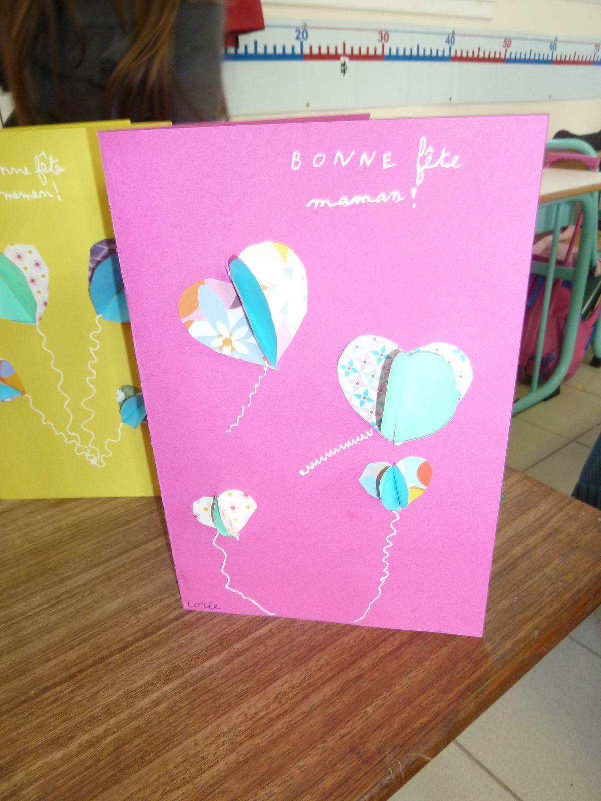 Cartes de la fête des mères
