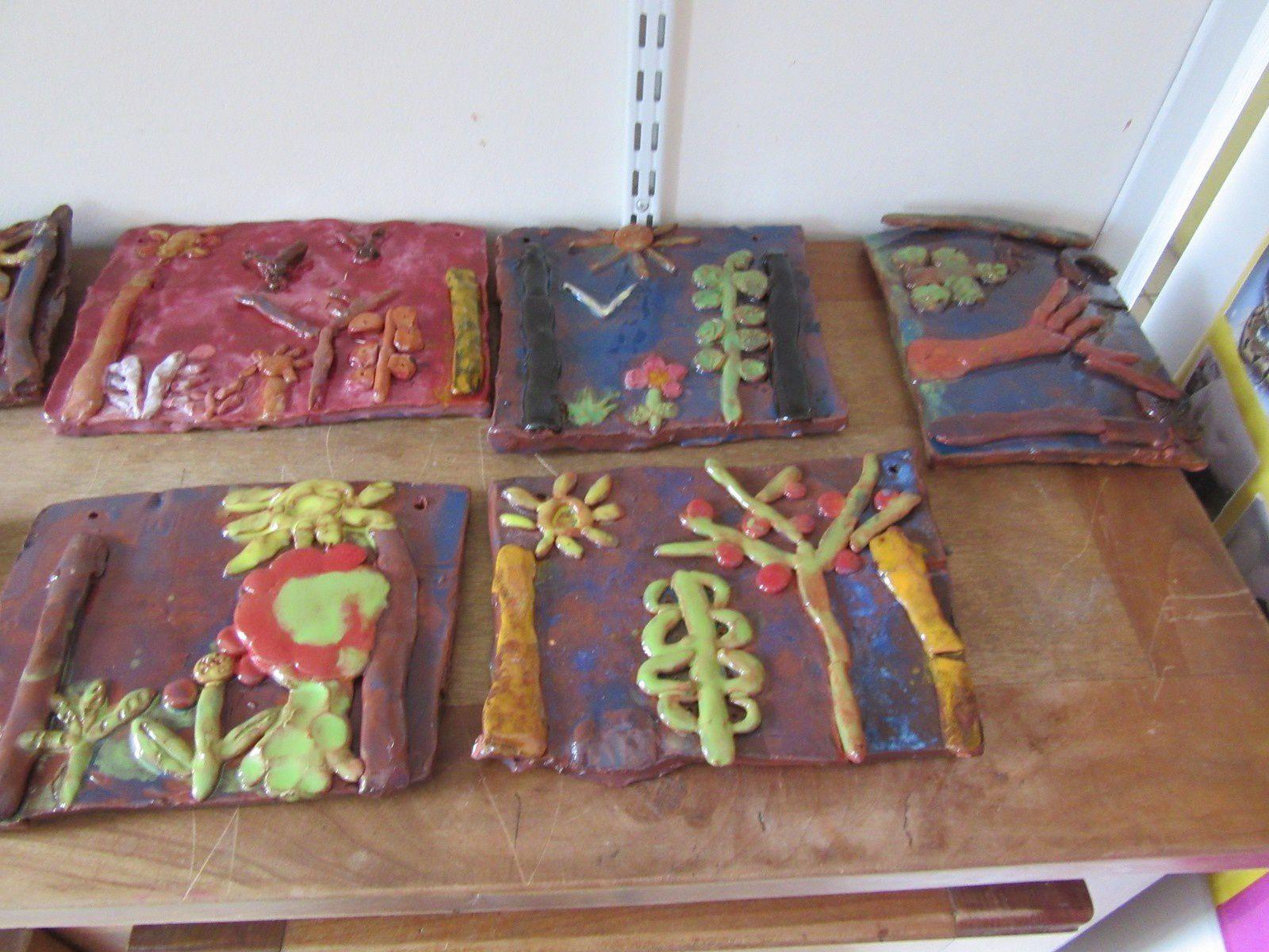 Sculptures en argile