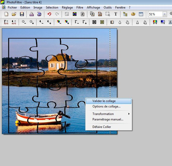 Comment transformer une photo en puzzle