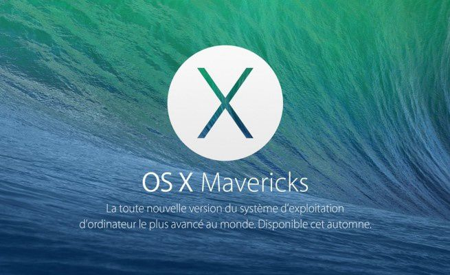 [TEST] Mac OS X Mavericks