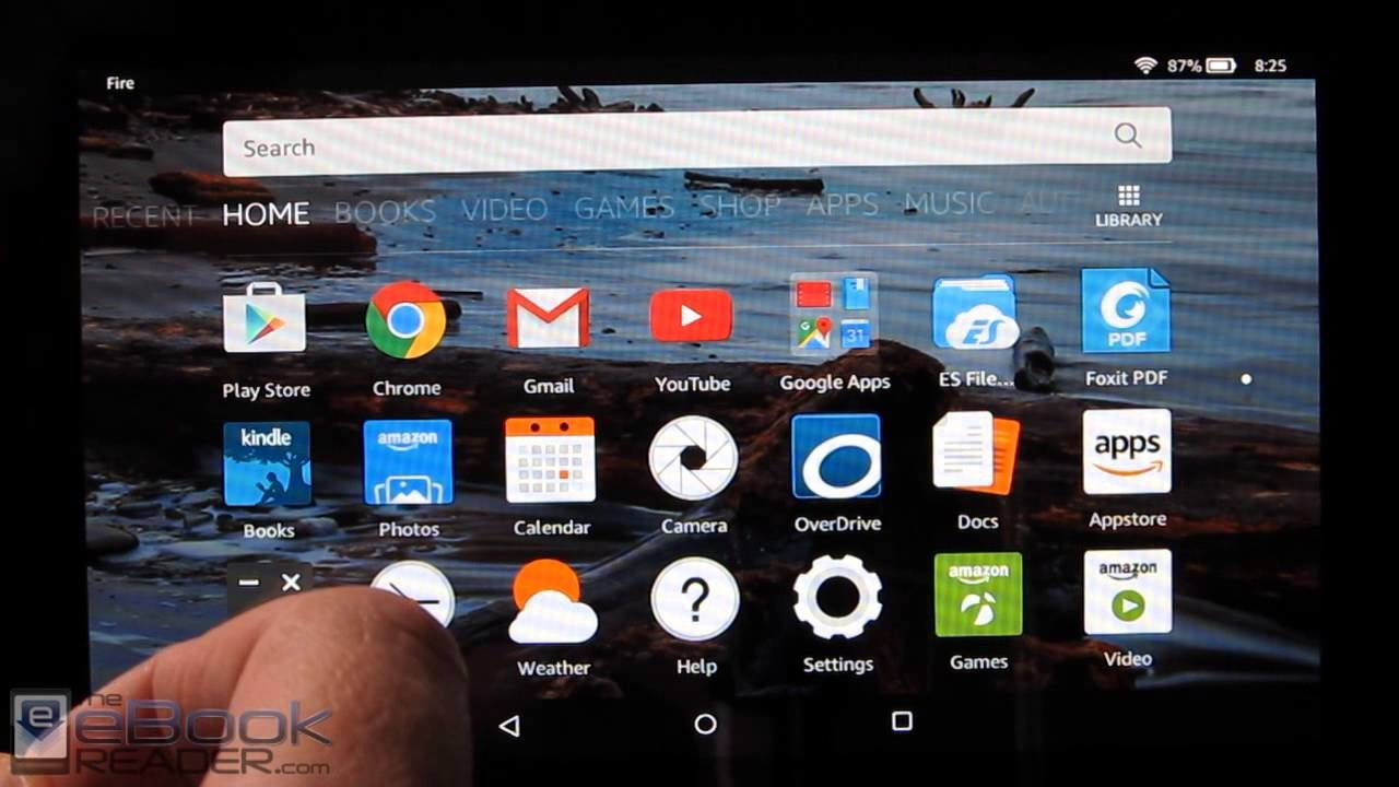 Installer le Google Play Store sur une tablette Amazon Fire