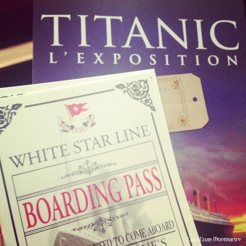 Titanic : l'expo