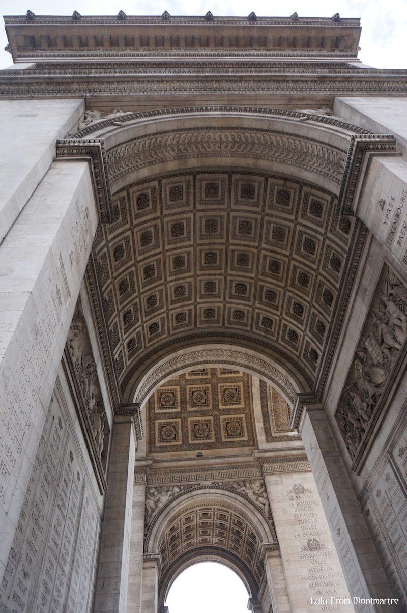 Mont' là d'ssus tu verras Montmartre : l'Arc de Triomphe