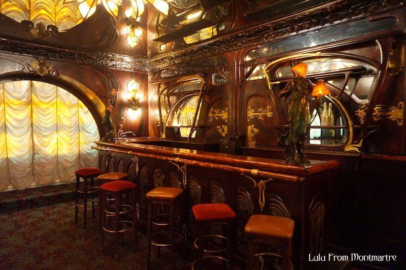 Lulu, Maxim's et l'Art Nouveau