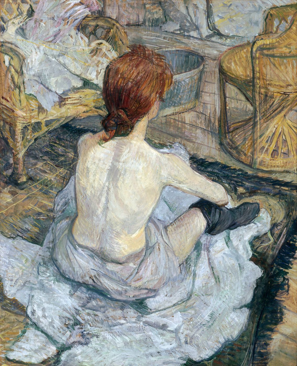 Illustration: La Toilette - Henri de Toulouse-Lautrec