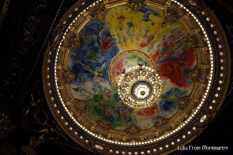 Une visite de l'Opéra Garnier