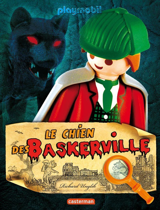 Un chien, les Barkerville, des Playmobil, Richard Unglik et moi...