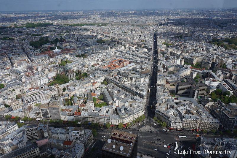 Paris vu du ciel : la Tour Montparnasse