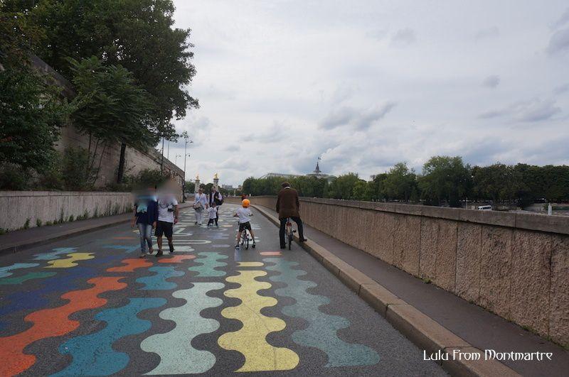 Un P'tit Vélib sur les quais de Seine