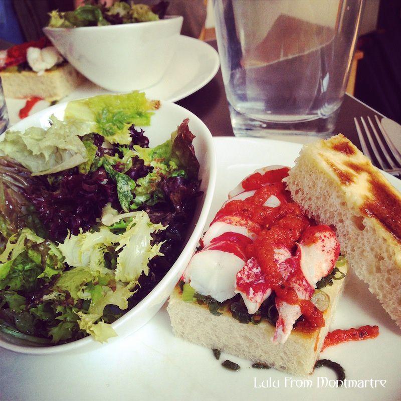 03. Croq' homard chez Jeanne B, Montmartre 75018