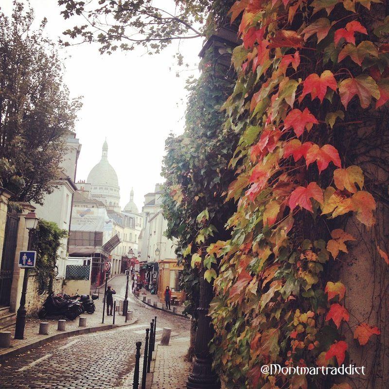 05. Un automne à Montmartre, 75018