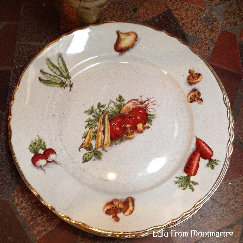 13. Les mêmes assiettes que chez ma grand-mère !