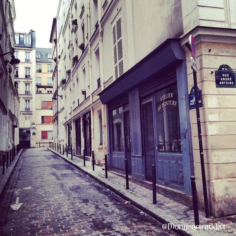 01. Rue andré Antoine, Montmartre 75018