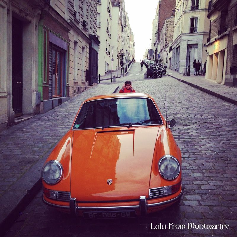 07. Vintage car in Montmartre, 75018