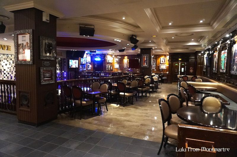 Retour au Hard Rock Café