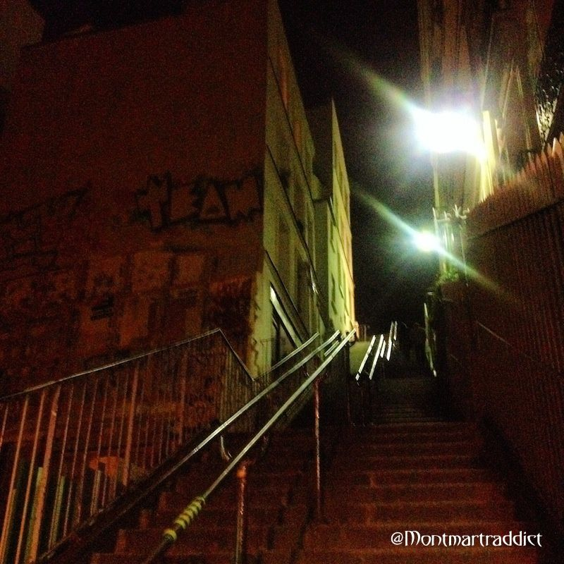 06. Montmartre by night, 75018