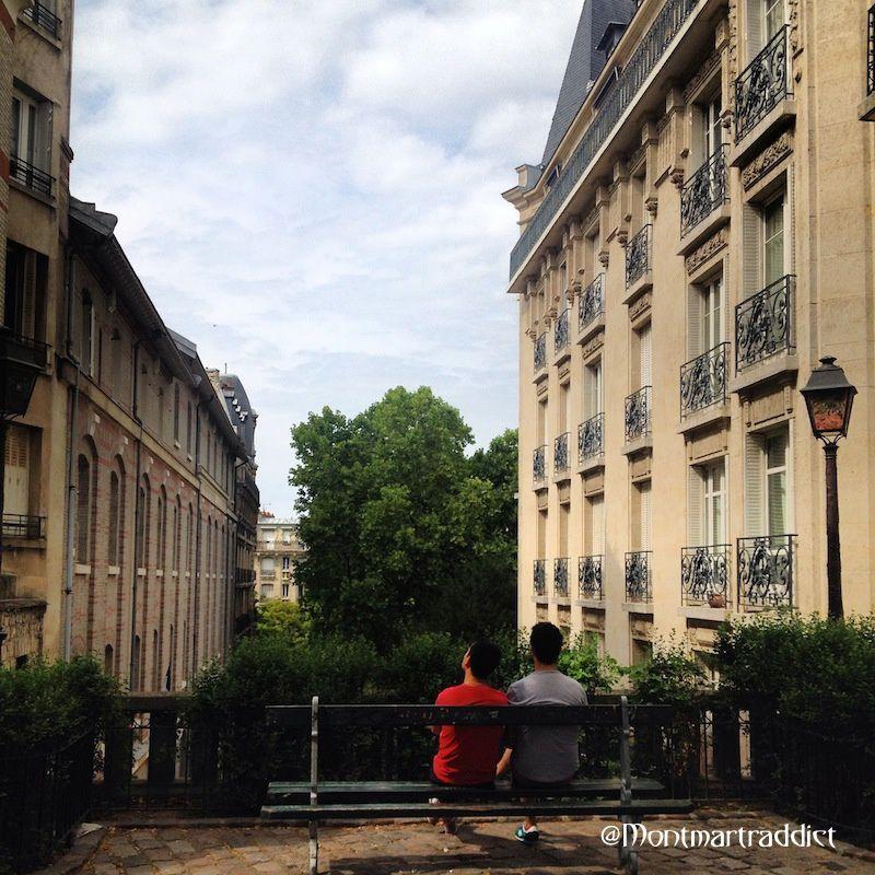 03. Le banc, Montmartre 75018