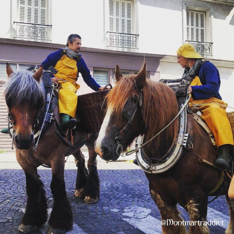 01. Chevaux Rue de la Flandre, Montmartre 75018